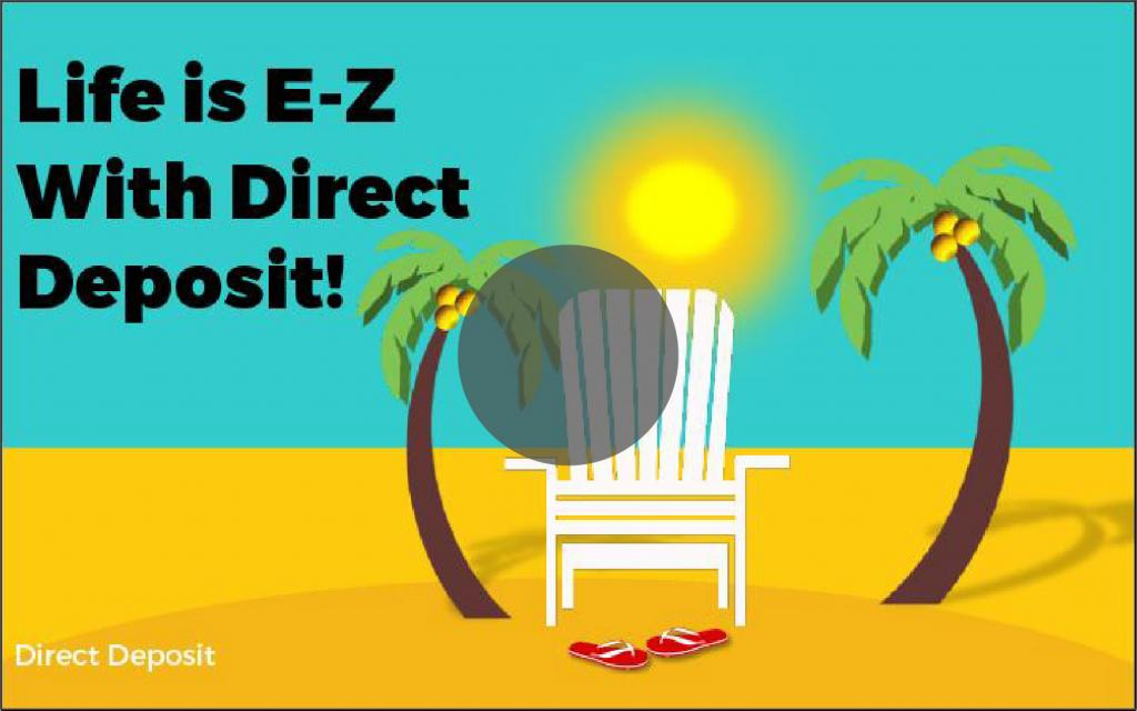 Setting Up Direct Deposit (EFT)