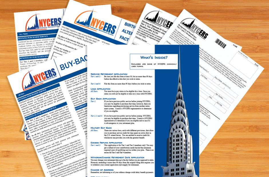 Forms Publications New York City Employees Retirement System